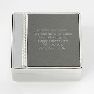 Image of Tri Tone Valet Box