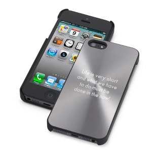 Image of Personalized Gunmetal iPhone 5 Case