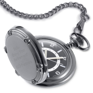 Image of Slate Pocket Watch