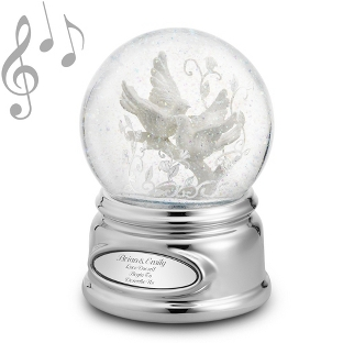 Image of Love Bird Snow Globe