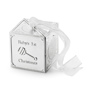 Image of 2013 Baby Block 3D Ornament