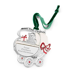 Image of Baby Carriage Ornament
