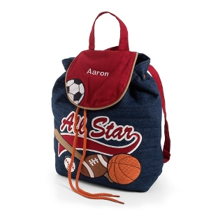 Image of All Star Signature Quilted Backpack