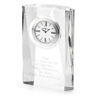 Image of Quest Optical Crystal Clock