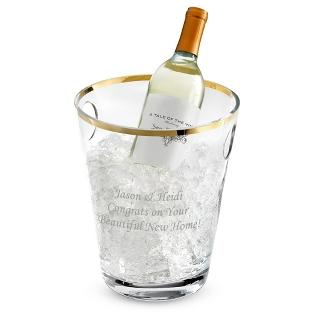 Image of Savoy Gold Rim Champagne Bucket
