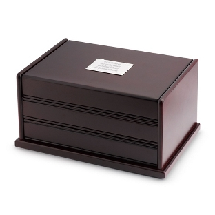 Image of Java Jewelry Box with Automatic Drawer