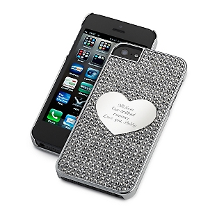 Midnight Bling iPhone Case
