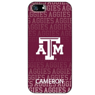 Image of Texas A&M University NCAA iPhone 5 Case