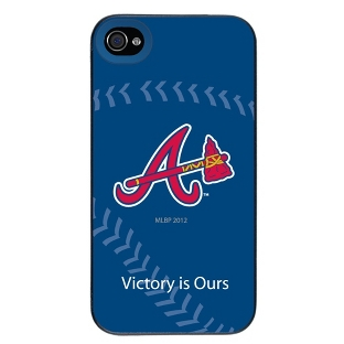 Image of Atlanta Braves MLB iPhone 4 Case
