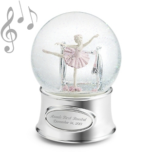 Image of Ballerina Girl Water Globe