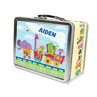 Image of Alphabet Train Lunch Box