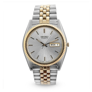 Image of Seiko Men's Classic Two Tone Watch