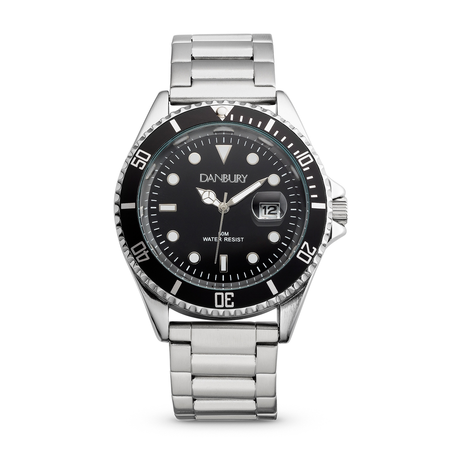Mens Midnight Steel Diver Personalized Style Watch