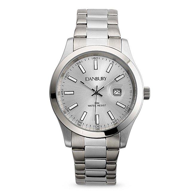Mens Silver Watch @...