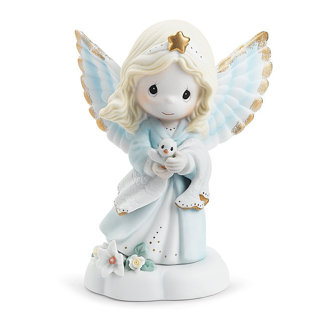 Precious Moments Angel Figurine - Religious & Ceremonial Gifts - Babies & Childrens Gifts - Personalized At Things Remembered