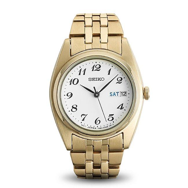Ladies Seiko Gold Tone Watch