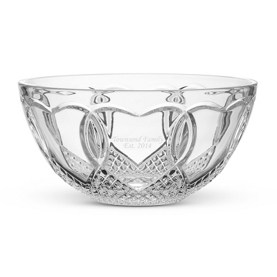 waterford wedding bowl
