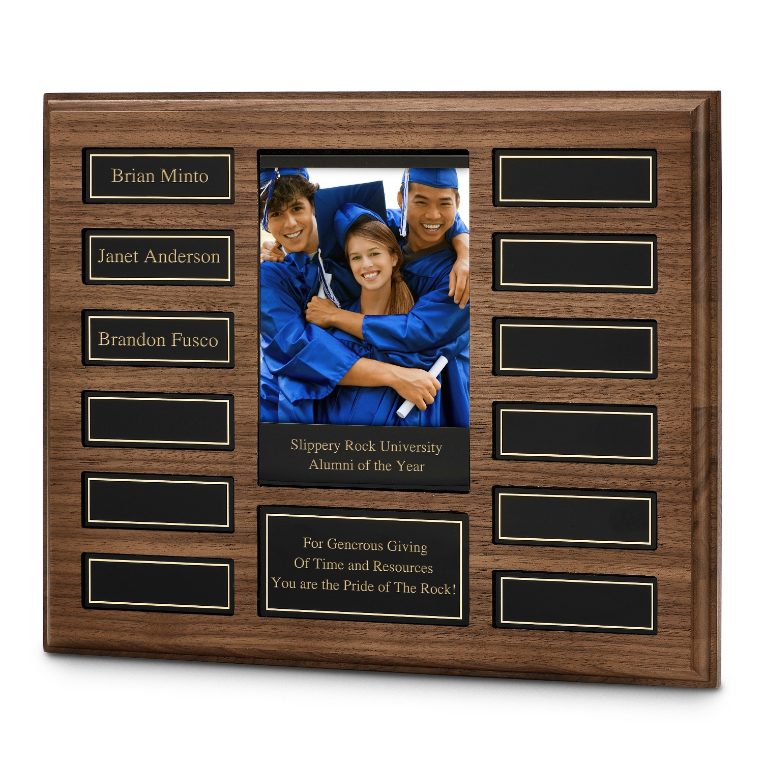 Personalized Perpetual Plaque with Photo
