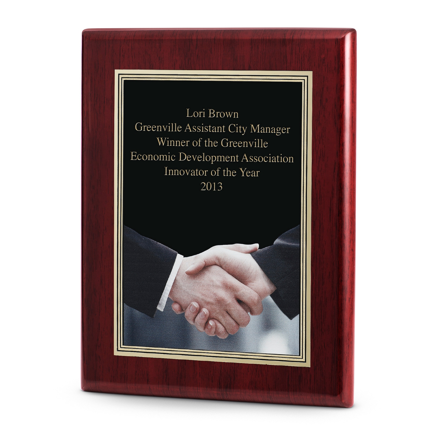 engraved plaques at things remembered