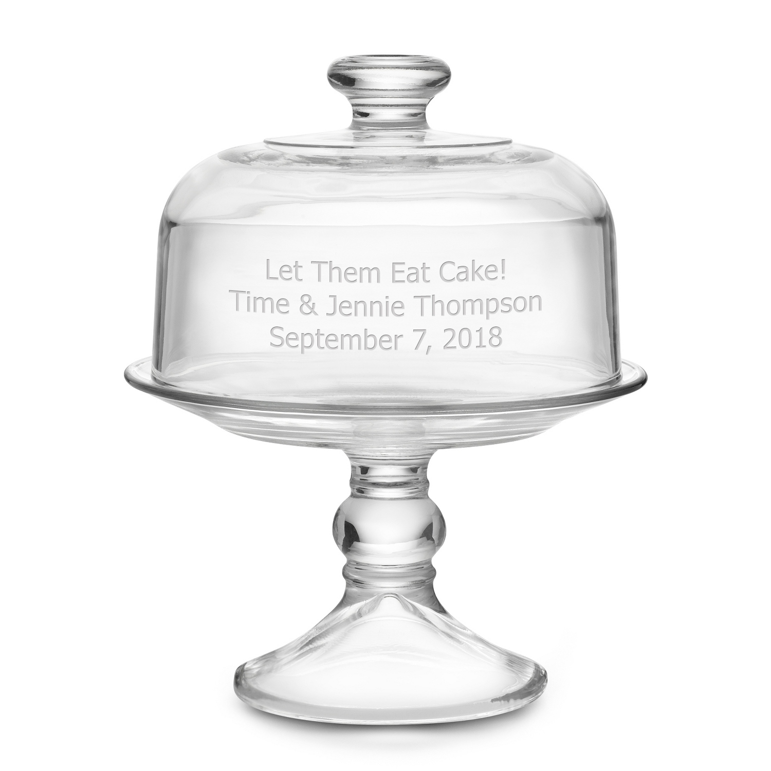 dome with cake cover stand pedestal