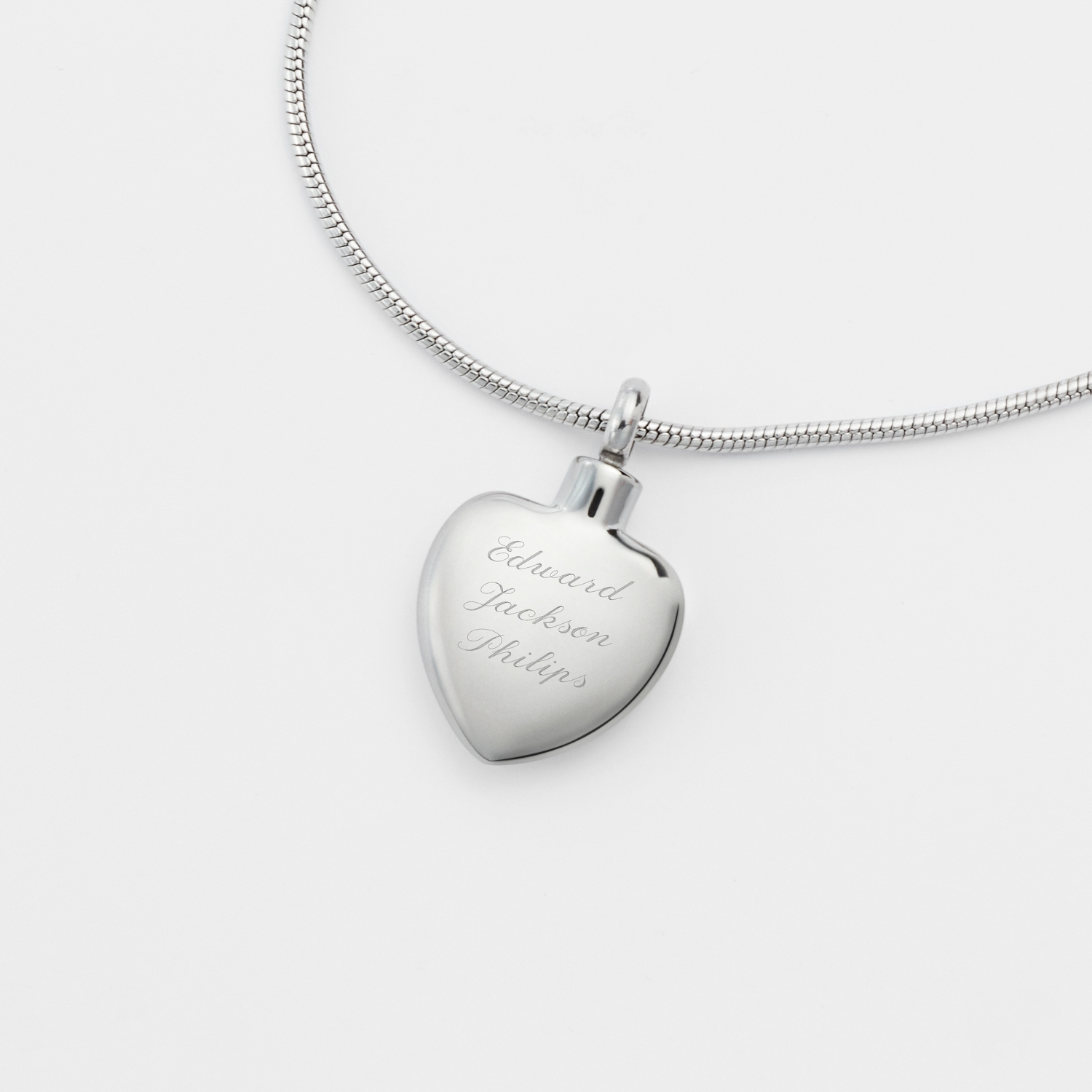 memorial engraved urn collections necklace personalized stainless steel jewelry s quote mother in waterproof products crystal pink with includes
