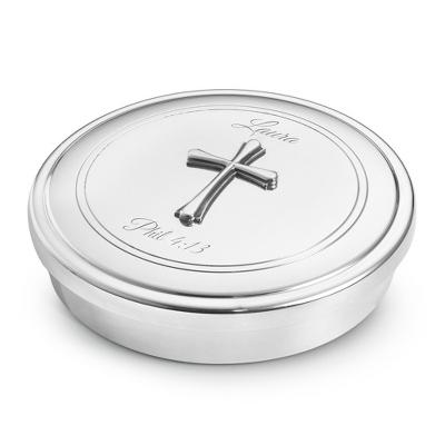 Baptism Blue Child Of God Customizable Snowflake Pewter: Collectible Jeweled Box & Trinket Boxes