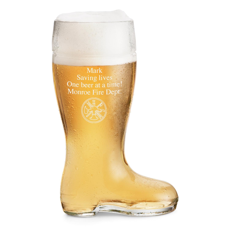 Custom Boot Beer Glass