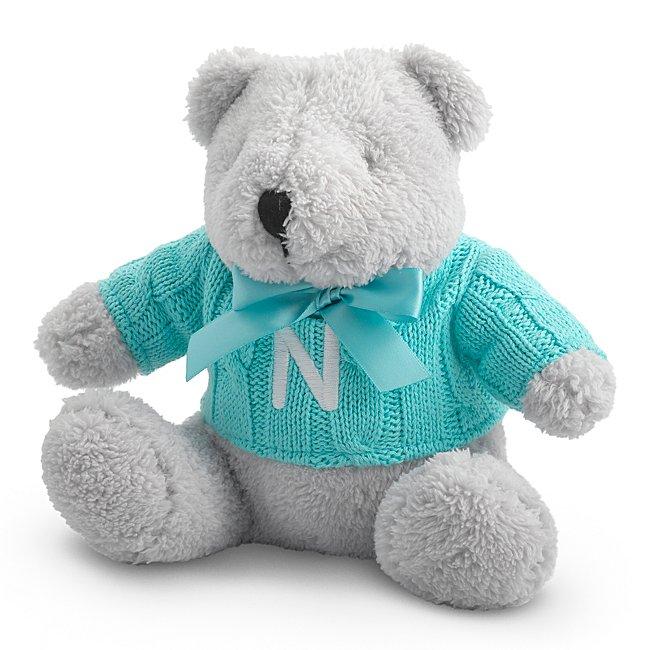 Aqua Knit Sweater Bear...
