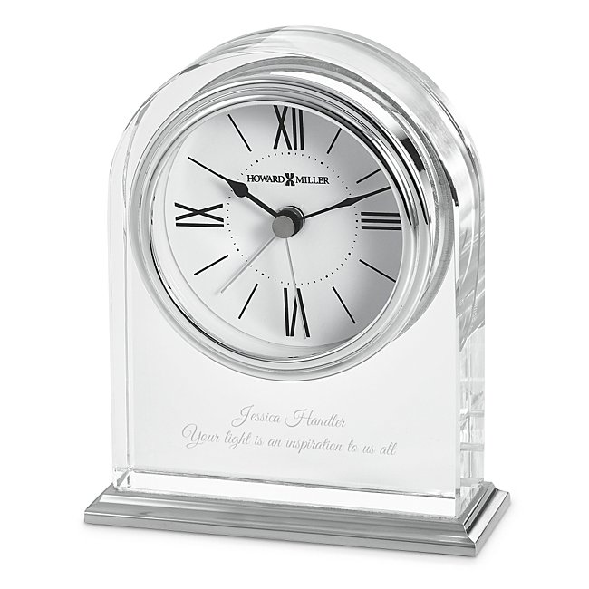Howard Miller Optica Crystal Clock