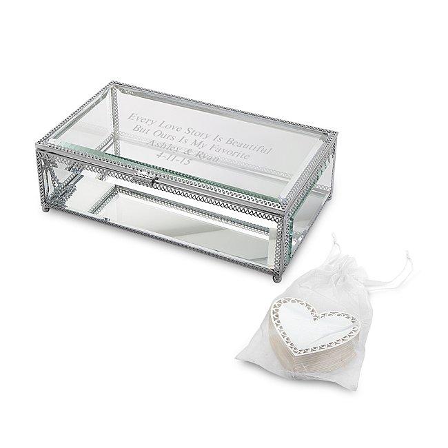 Wishing Box Wedding Guest Book