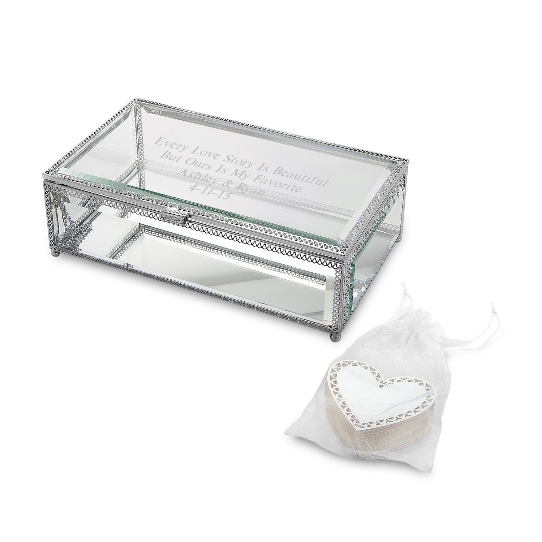 keepsake boxes keepsake wedding rings Wishing Box Wedding Guest Book