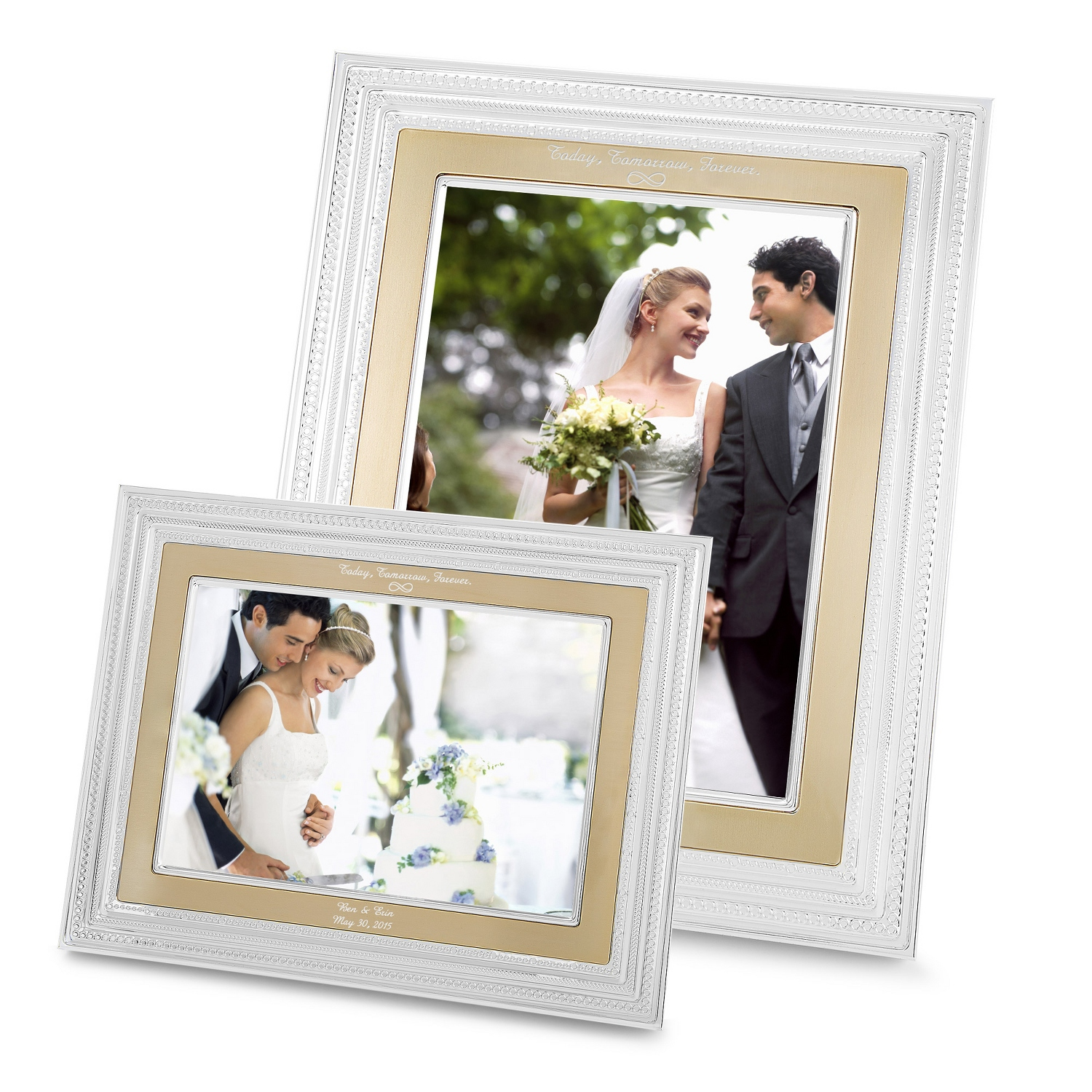 Vera Wang With Love Gold 5x7 Frames