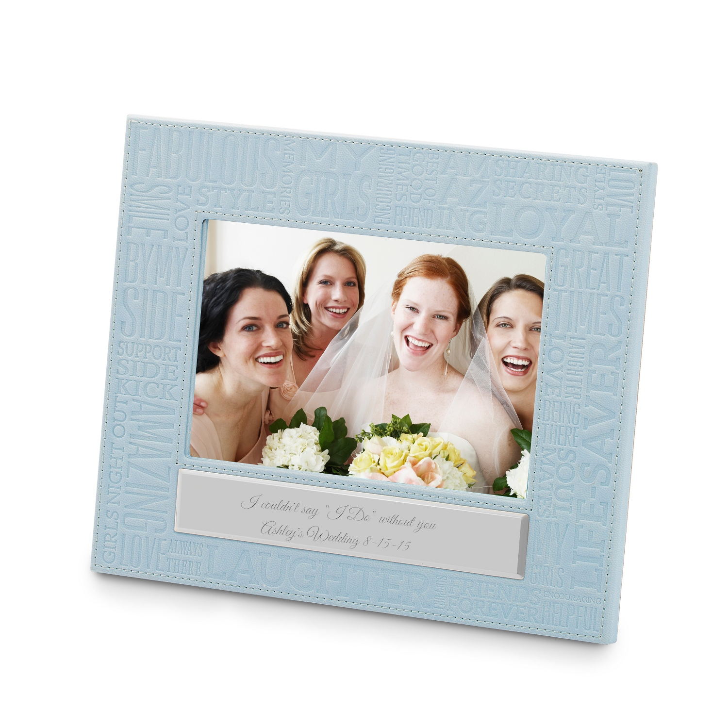Personalized Girls Word Cloud Frame