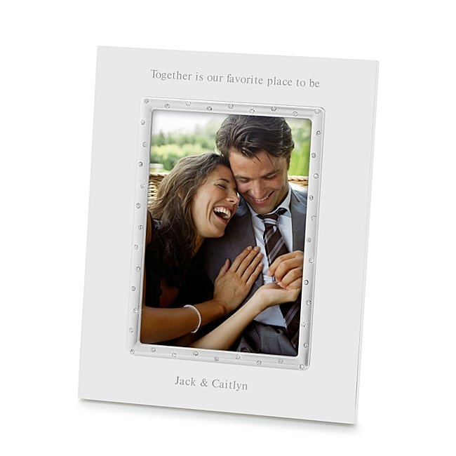 Lenox Devotion 5X7 Wedding Frame - Picture Frames & Photo Albums - Wedding Gifts - Personalized At Things Remembered