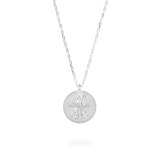Sterling Silver H Initial...