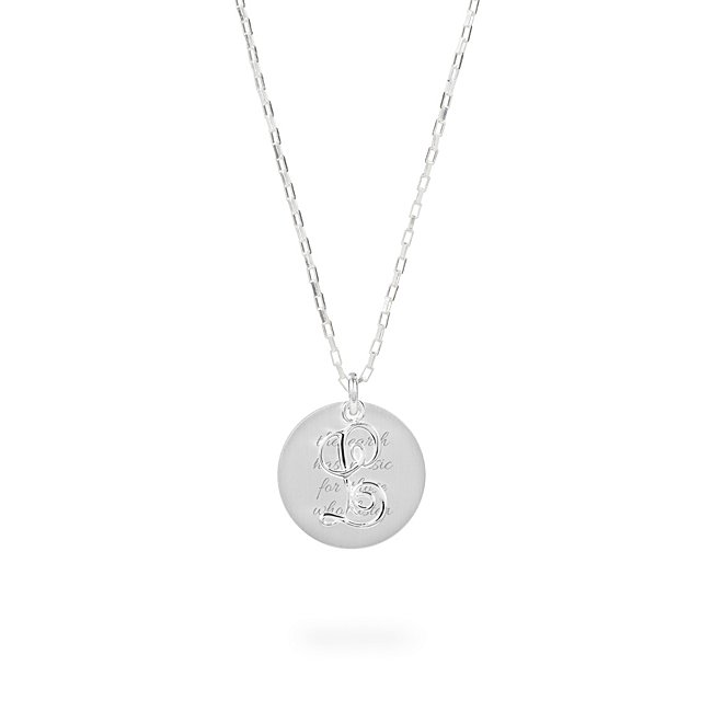 Sterling Silver L Initial...
