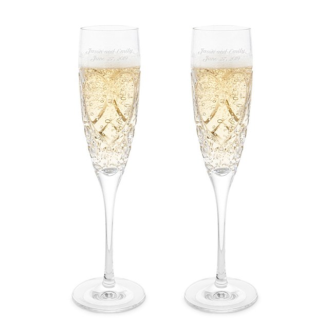 Waterford Crystal Wedding True Love Toasting Flutes
