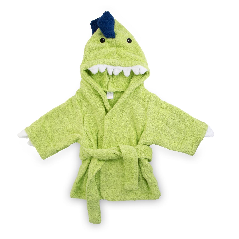 f43cf58a99 Splash-A-Saurus Dinosaur Hooded Towel Robe