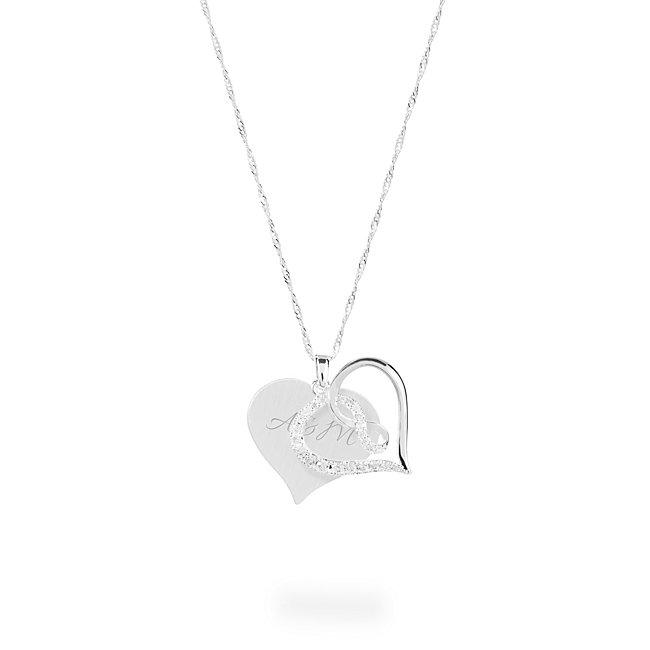 Infinity Heart Crystal...