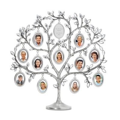 Jeweled Family Tree Picture Frame