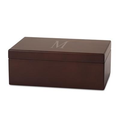mens wood jewelry box