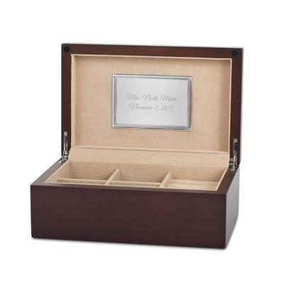 mens wood jewelry box - Wood Jewelry Box