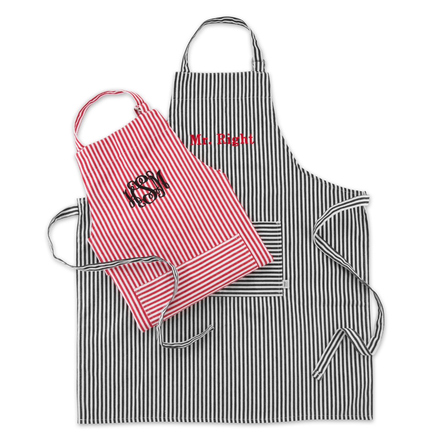 French Stripe Aprons