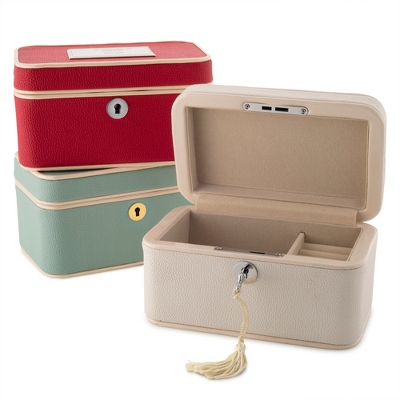 Train case jewelry boxes for Things remembered jewelry box