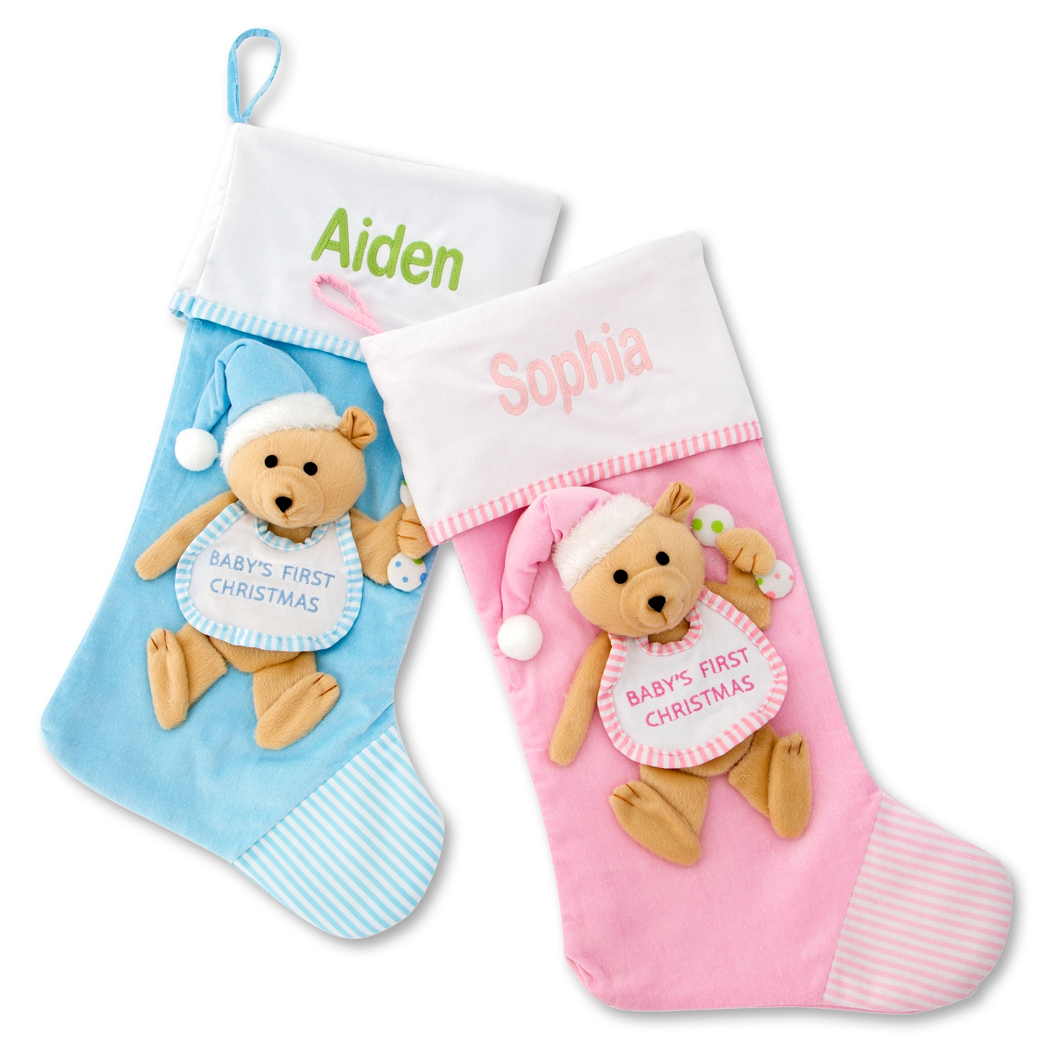 Baby first christmas stockings negle Images