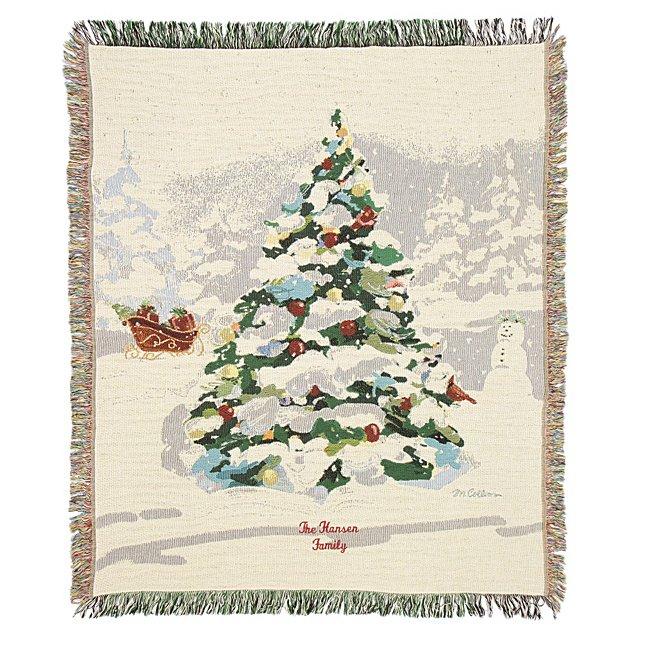White Christmas Tapestry...