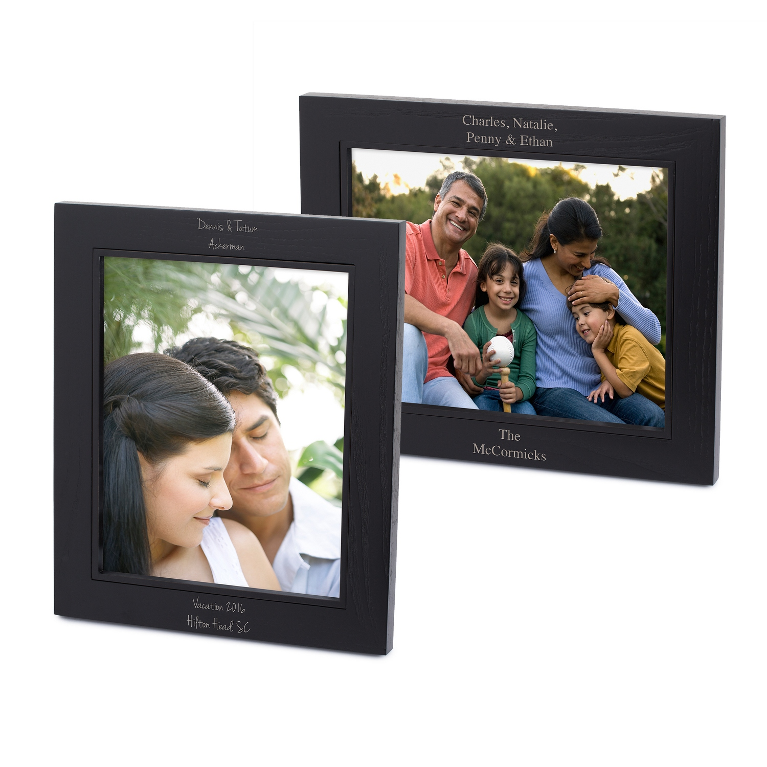 Classic Black Wood Picture Frames