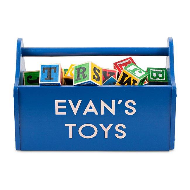 Blue Toy Caddy @...