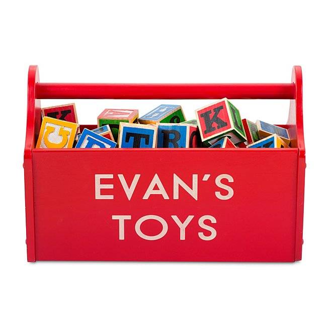 Red Toy Caddy, Mdf, By...
