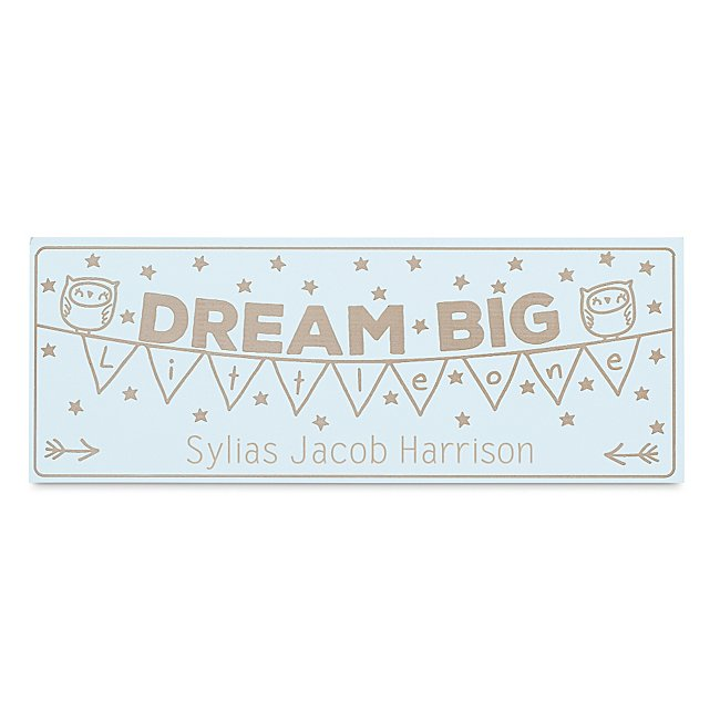 Dream Big Wall Plaque...